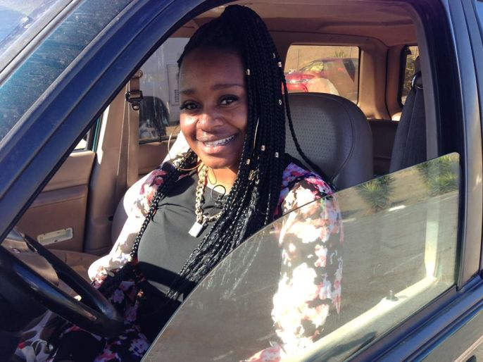 Keenia Williams freeway hero