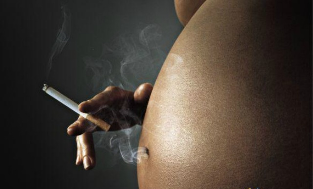 smoking during pregnancy homosexuality