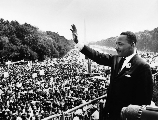 mlk day nonviolence call
