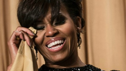 michelle laughing