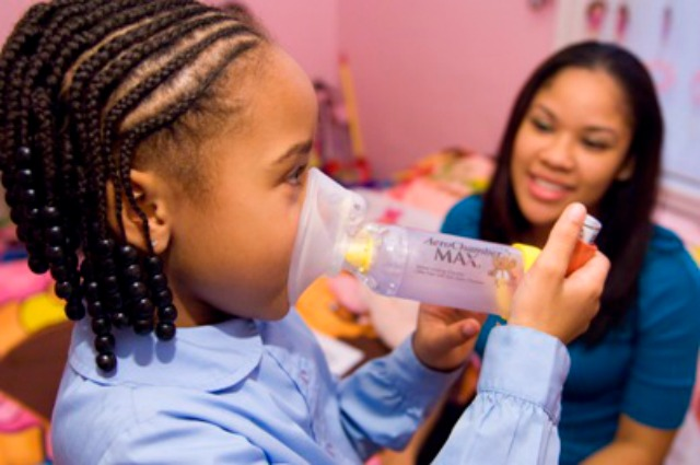 black children and asthma