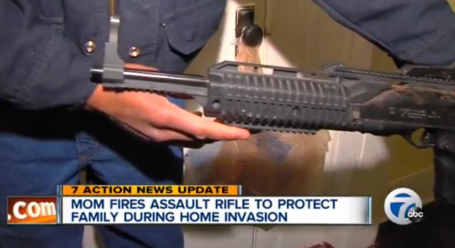 detroit mother fires gun at home intruders