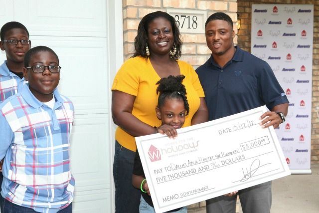 Warrick Dunn_Dallas Home Celebration