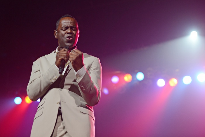 Brian McKnight Performs At Hard Rock Live!