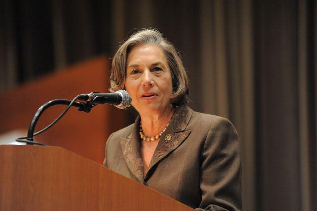 Congresswoman-Jan-Schakowsky-spoke-of-her-own-recent-travels-to-Haiti-after-the-disaster
