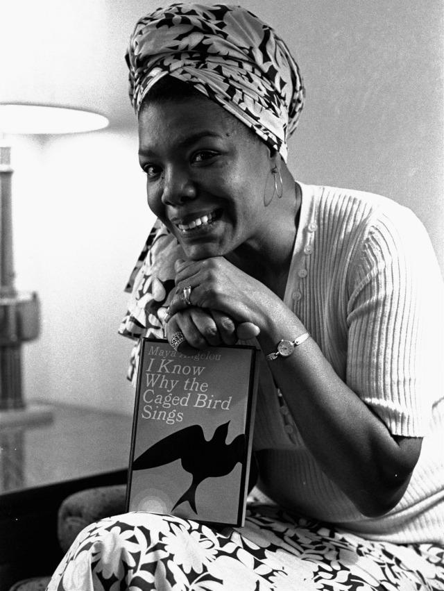 Maya Angelou dead dies