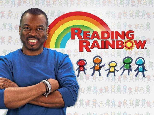 Levar Burton, Reading Rainbow