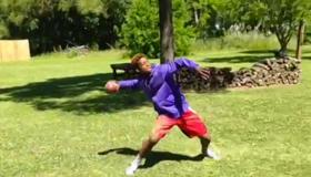 if kobe played football vine
