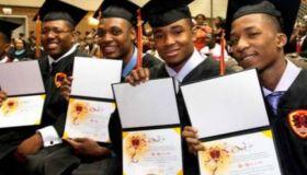 black male high school graduation rate