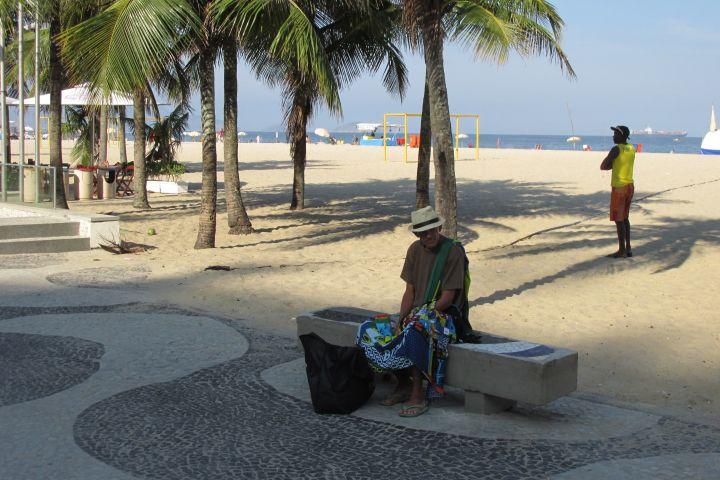 Salvador's coastal beach