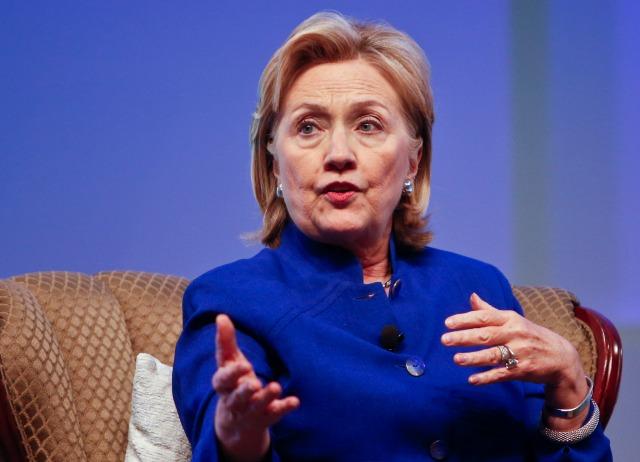 Hillary Clinton rich