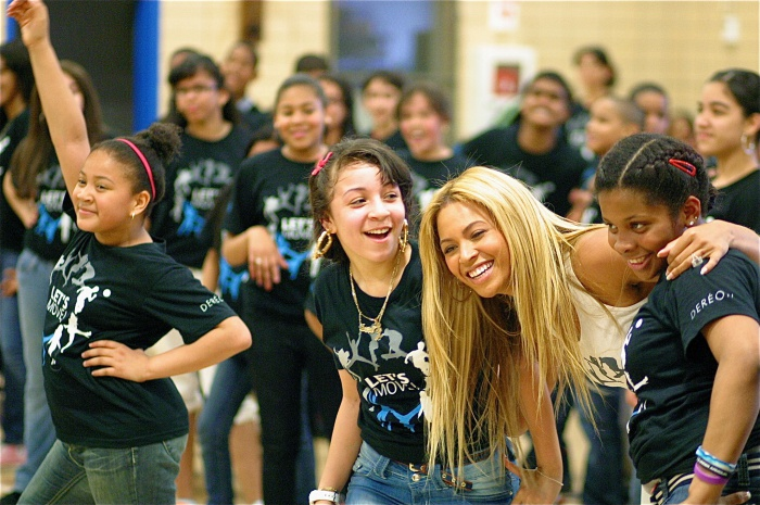 Beyonce Joins in NYC Dance Class