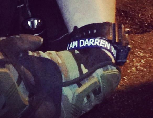 Darren Wilson wristbands