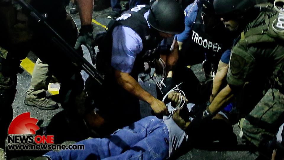 Black arrests