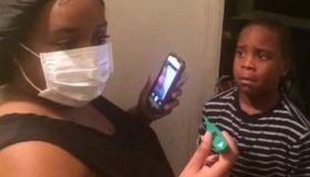 Parent Ebola prank
