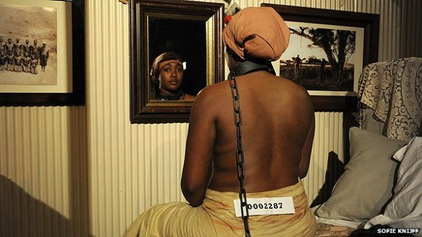human zoo slave exhibition cancelled in u-k