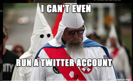 Anonymous Seizes KKK Twitter Account in Ferguson Protests
