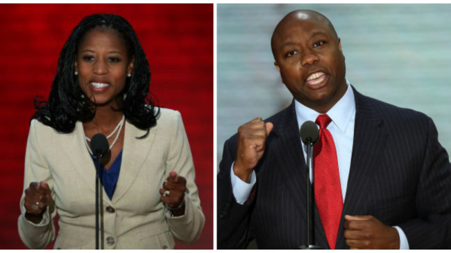 Tim Scott and Mia Love