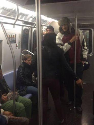 NYC Viral Subway Brawl 2