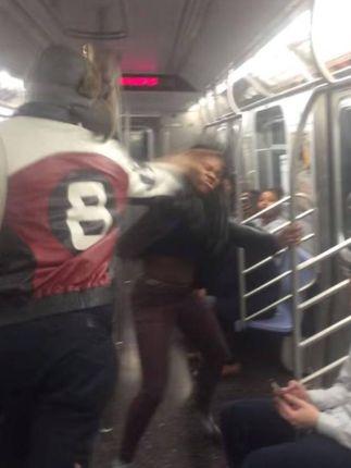 NYC Viral Subway Brawl