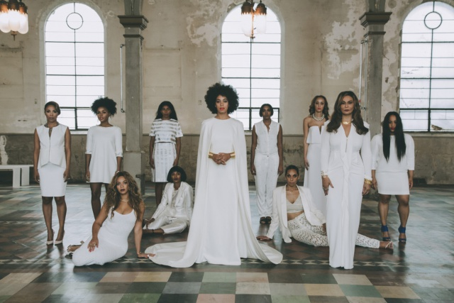 solange knowles wedding party
