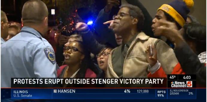 Steve Stenger Protests