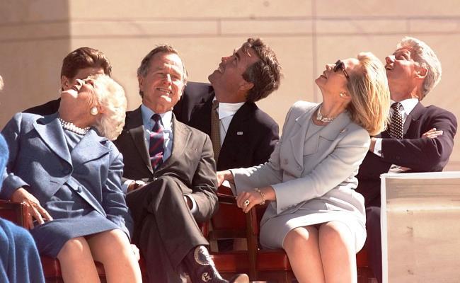 Bush and Clinton Families