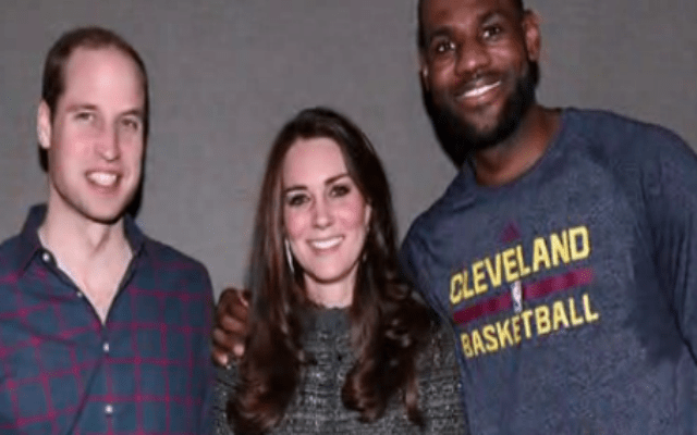 lebron and the royals