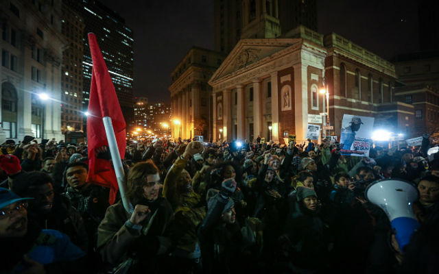 NYPD Eric Garner Chokehold Protests