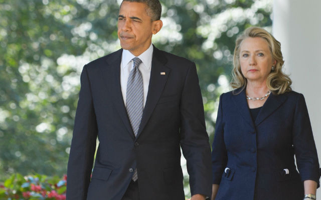 POTUS and Hillary Clinton