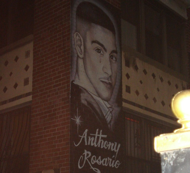 candlelight vigil held for anthony rosario hilton vega and others killed by the nypd