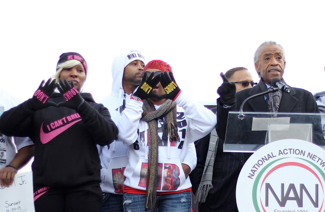 Justice For All March Sharpton