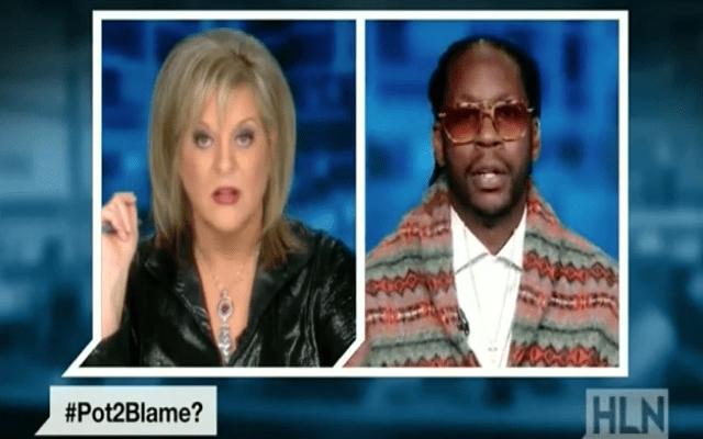 2 Chainz and Nancy Grace Pot Debate
