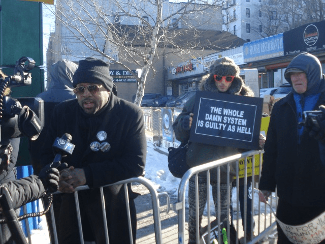counter protestors attempt to disrupt pro cop rally in staten island 1