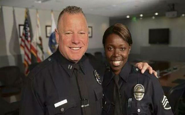 LAPD Interracial Couple Attend SOTU