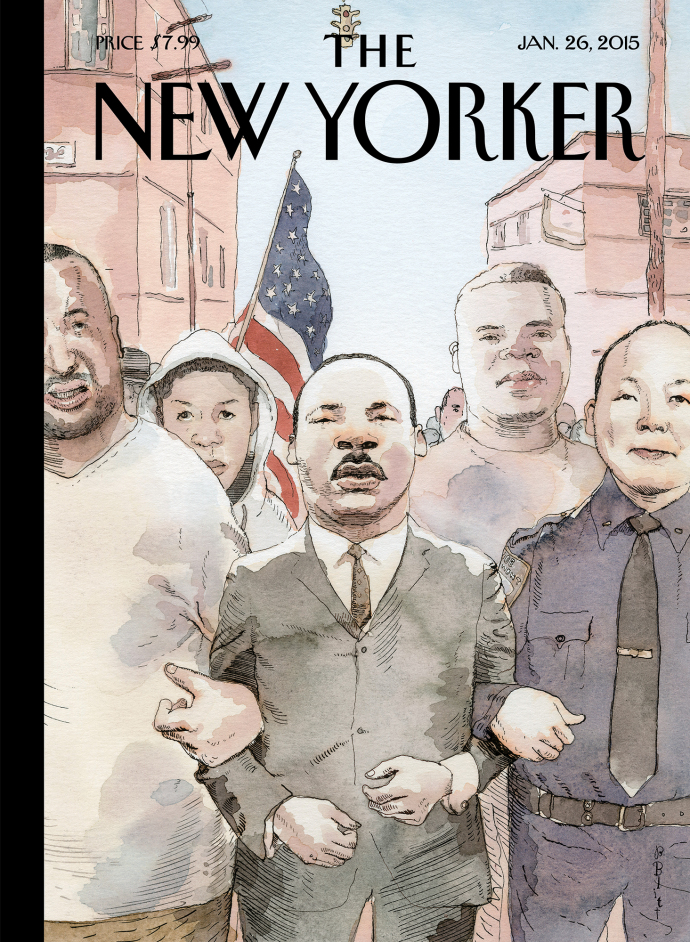 new yorker martin luther king