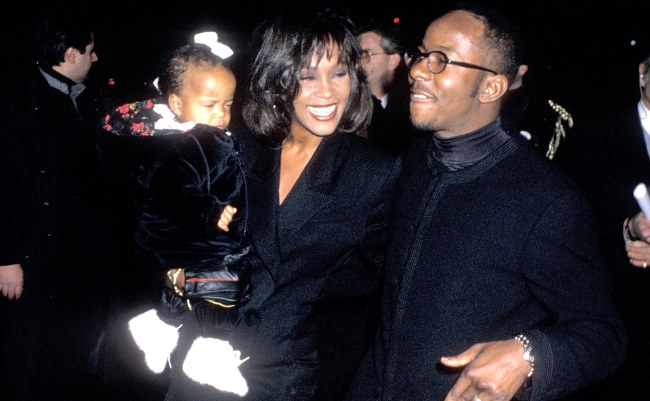 At Bobby Brown's 25th Birthday Party in 1994