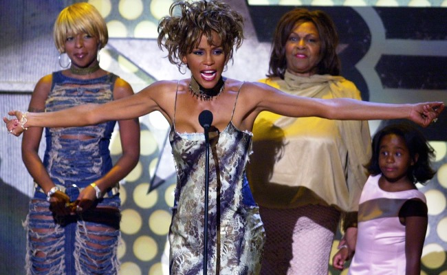 At the BET Awards in 2001