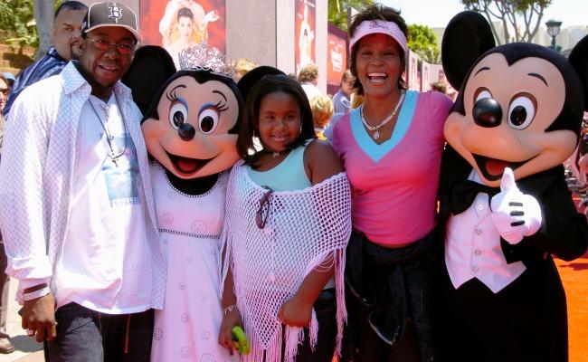 At Disney World in 2004