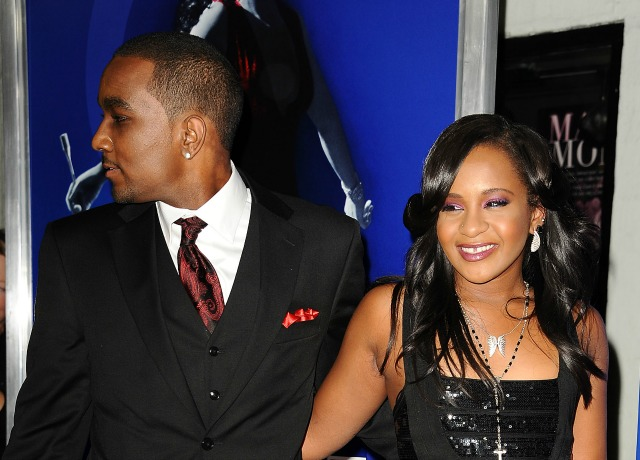 AUGUST 16: Bobbi Kristina Brown and Nick Gordon attend the premiere of 'Sparkle' at Grauman's Chinese Theatre on August 16, 2012 in Hollywood, California. (Photo by Jason LaVeris/FilmMagic)