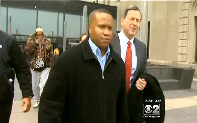 Park Forest, Ill., police officer Craig Taylor is acquitted in the beanbag shooting death of a World War II veteran. (News 2 Screenshot)