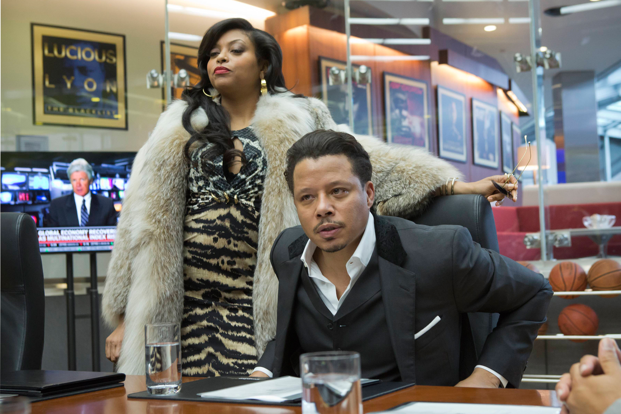 Cookie shows off her fashion dominance in the first episode, wearing her signature fur-and-animal print combination (Chuck Hodes/Fox