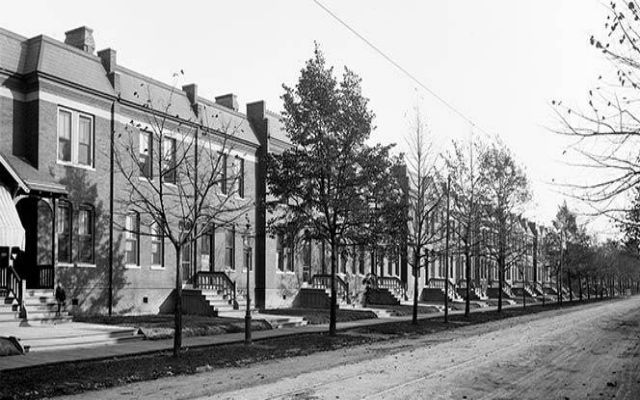 Pullman Worker Houses (Courtesy of Library of Congress)