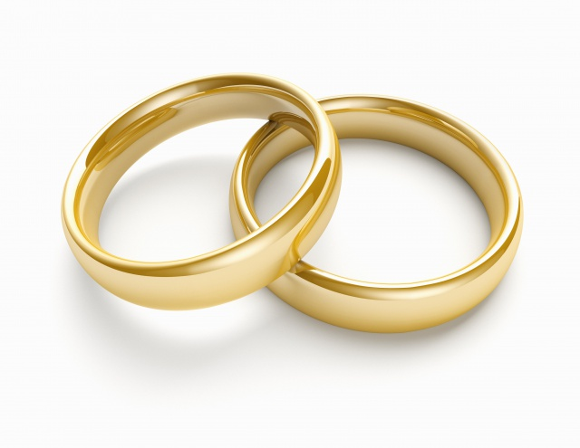 Pair of wedding bands