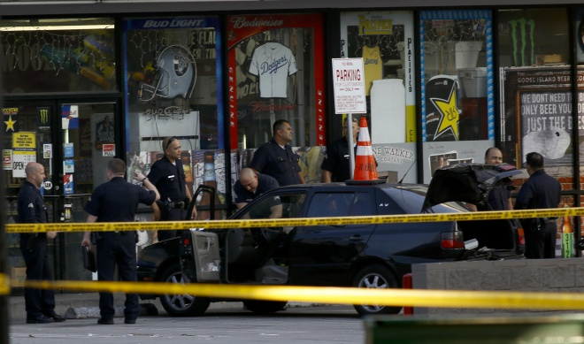 LAPD Investigation on highland and hollywood boulevard