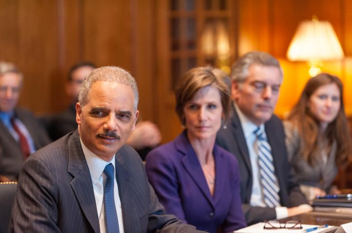 Attorney General Eric Holder and Coalition for Public Safety