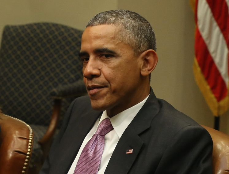 President Obama Meets Nat'l Security And Public Health Officals On Response To Ebola