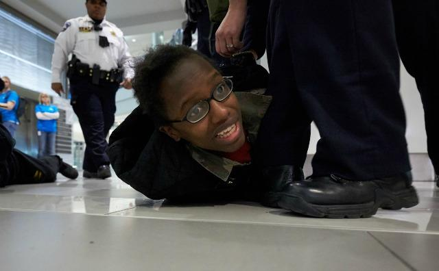 Mall Of America Protester Arrested