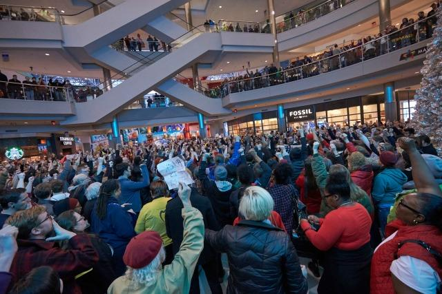 Black Lives Matter Protest At Mall of America