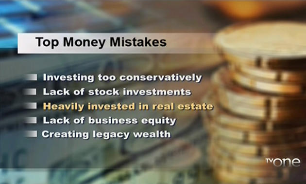 WealthyU: Avoid Top Money Mistakes Made By Blacks [info graphic]